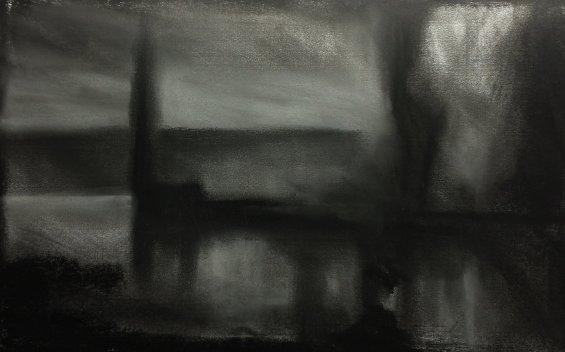 Charcoal-Landscape
