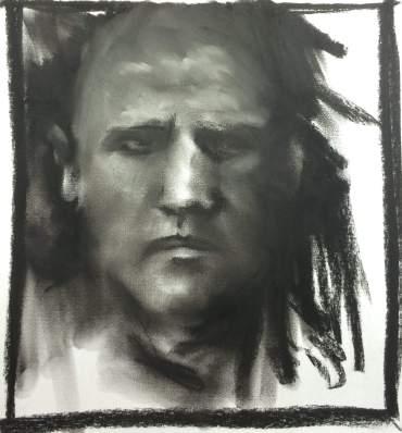 Charcoal-Self-Portrait (2)