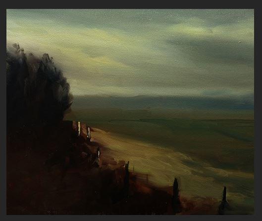 #63: Landscape - Morning Light (Oil on Canvas)