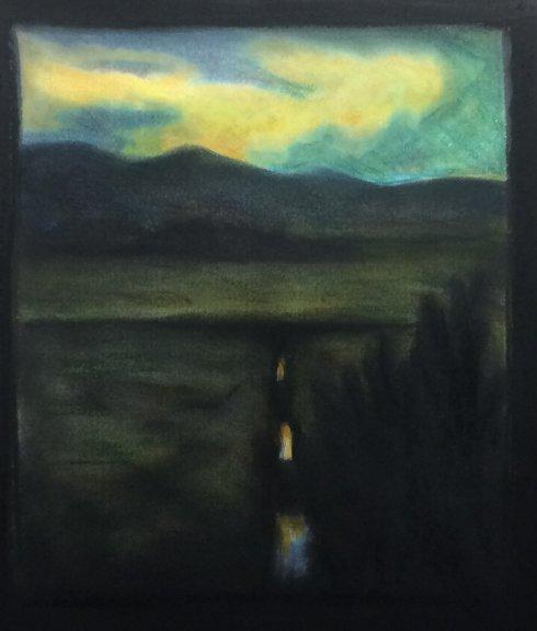 Num-67-Charcoal- Landscape