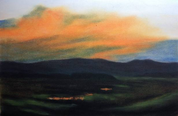 Num-68-Pastel-and-Charcoal-Landscape