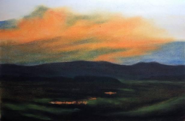 Num-68-Pastel-and-Charcoal-Landscape