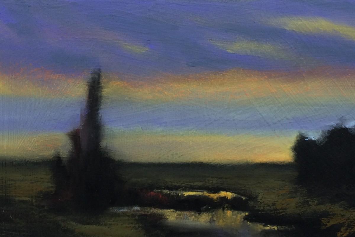#P6: Tonal Landscape (Pastel on Board)
