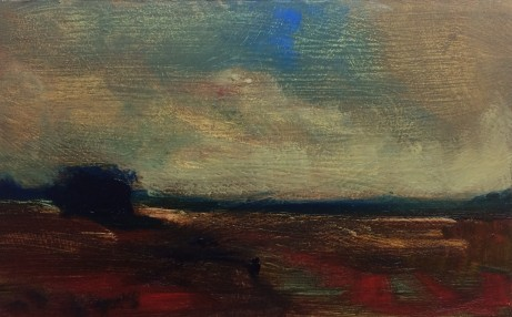 FruitfulDark-#O218-Tonalist-Landscape-Oil-on-Panel