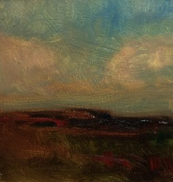 FruitfulDark-#O219-Tonalist-Landscape-Oil-on-Panel